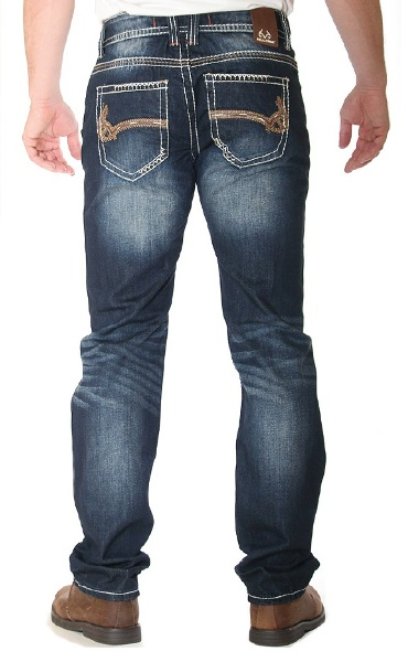 Mens RealTree Bootcut Jeans Camo