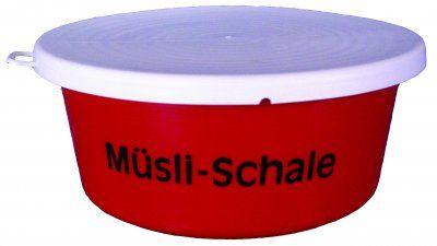 Müsli-Schale mit Deckel 5 Liter