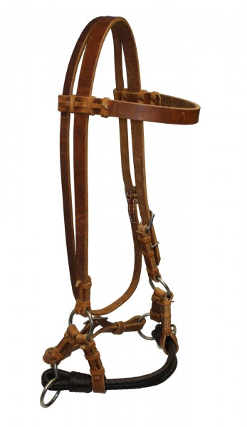 Side Pull Softie Braided Double Noseband
