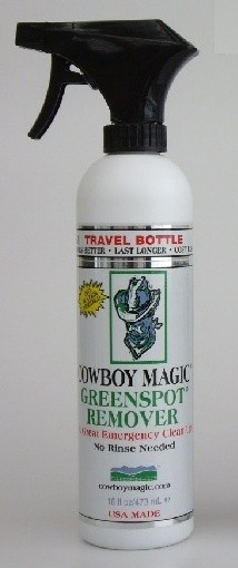 Cowboy Magic Green spot remover -Travel Size Bottle-