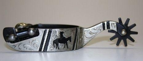 Sporen Riders Silver