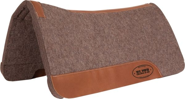 Mustang Elite High Density Wool Contour Pad 1 Inch