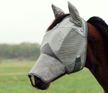 Cashel Crusader Fliegenmaske mit Ohren- und Nasenschutz