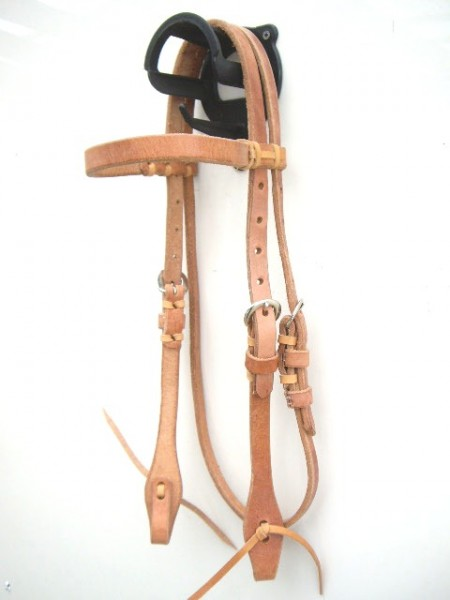 Harness Kopfstück - Hermann Oak Leather - Stirnband