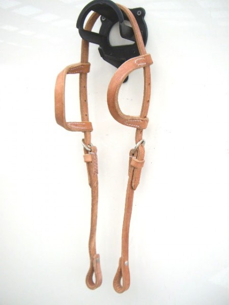 Harness Kopfstück - Hermann Oak Leather - Einohr-Copy