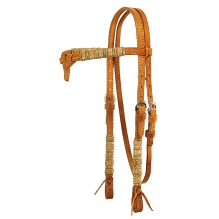 Futurity Knot Headstall with Rawhide Schutz Brothers