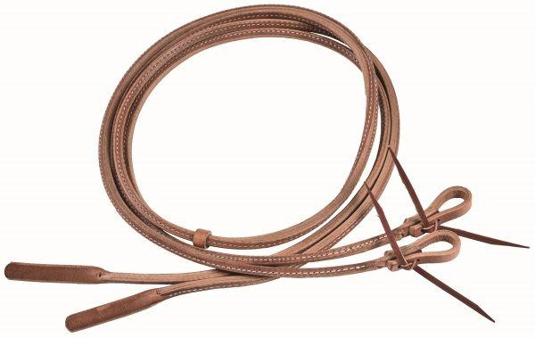 Ultimate Cowboy Gear Rolled Split Reins 3/8- 240cm