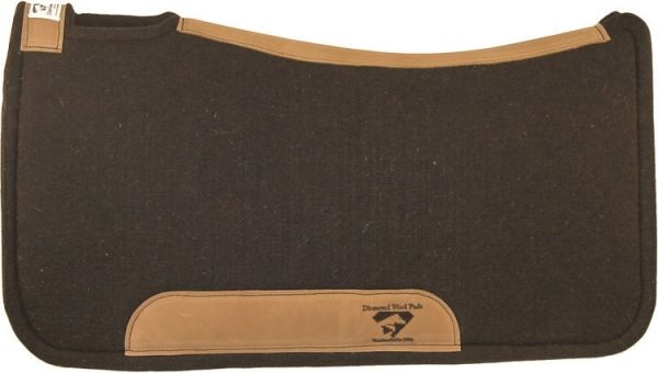 Diamond Wool Contoured Tough Pad Premium Wool 1 Inch