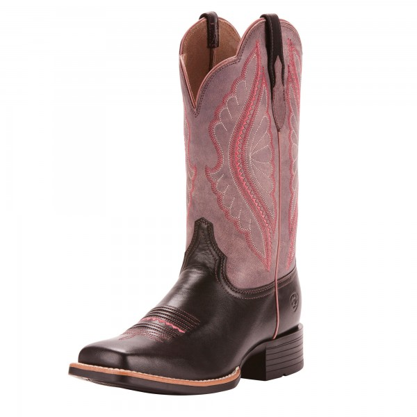 Ariat Womens Prime Time Westernstiefel Limousin Black