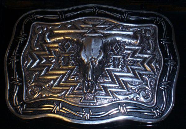 Buckle Crumrine Vintage Steerhead