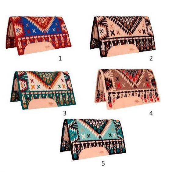 Mustang Reinmaker Tan Wool Bottom Pad