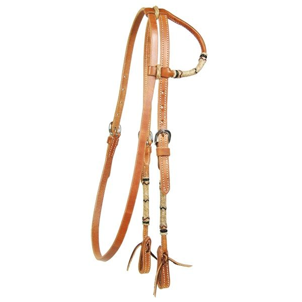 Harness Headstall 1 Ear with Throat Latch Schutz Brothers