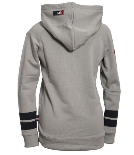 OSWSA Women Hooded Sweat Rundown grey