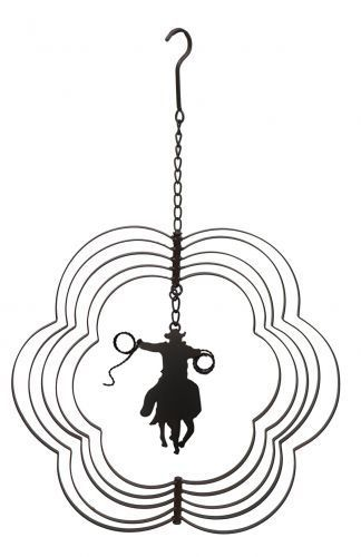 Iron expanding hanging ornament
