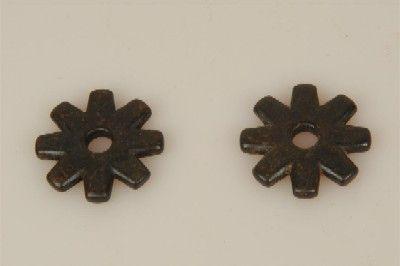 Sporenrädchen 8fach schwarz klein